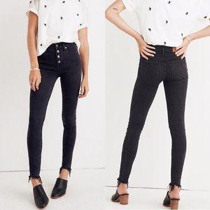 Madewell Black High Rise Skinny Jeans Sz 33